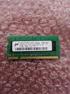 MT8HTF6464HDY-53EB3 GENUINE MICRON LAPTOP MEMORY DDR2 512MB PC2-5300S (CA61)