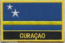 Netherlands Curaçao Flag Embroidered Patch Badge - Sew or Iron on