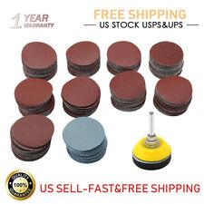 300*2 Inch Sanding Discs 1/4 Inch Shank Backing Pad Foam Buffering Pad Suitable