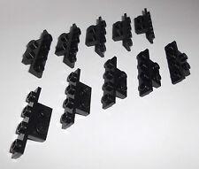 6x Lego Basis 4623 Platten 1x2 mit Haken Steg Schwarz Baukästen & Konstruktion LEGO Bausteine & Bauzubehör