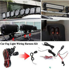 12V Work Light Remote Control Wiring Harness Switch Relay LED Fog Light Bar Kit