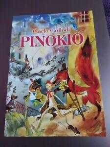 Pinocchio Carlo Collodi illustrato lingua polacca polacco nuovo