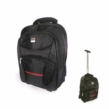 HY Wheeled Cabin Travel Carry-on Luggage Trolley Backpack Convertible Light