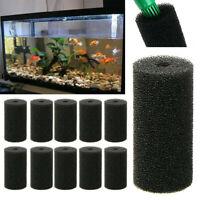 Aquarium Inlet Sponge Filter Foam Protector Replacement Sponge Cover 10pcs WH1
