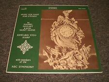Music For Harp & Strings~Handel Mozart Ravel Saens~Edward Vito Harp~FAST SHIP!
