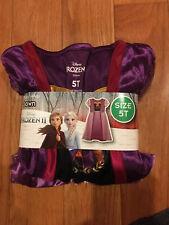 Frozen 2 Purple Anna Dress Size 5T NEW In Package!  Frozen Gown/ Dressup/Casual