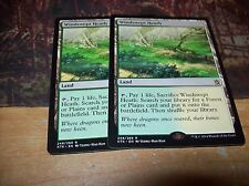 (2) WINDSWEPT HEATH RARE LAND KHANS OF TARKIR FREE SHIPPING WITH TRACKING