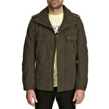 DIESEL J-MOHA DARK OLIVE GREEN JACKET SIZE S 100% AUTHENTIC