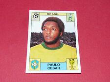 39 PAULO CESAR MEXICO 70 BRESIL FOOTBALL PANINI WORLD CUP STORY 1990 SONRIC'S