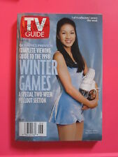 MICHELLE KWAN TV GUIDE february 7 - 13, 1998 WINTER OLYMPICS PREVIEW