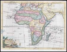 1764 - AFRICA Negroland Ethiopia Nubia Barbary Guinea by Thomas Jefferys (KWM15)