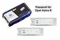 Premium LED Kennzeichenbeleuchtung Opel Astra K KB2