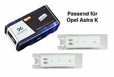 Premium LED Kennzeichenbeleuchtung für Opel Astra K KB2