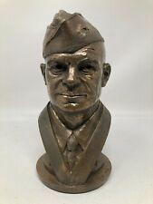 Tom Clark Cairn Bronze Sculpture Dwight Eisenhower Bust