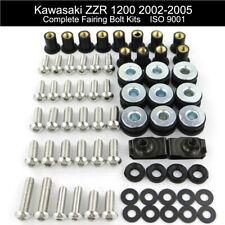 Motorcycle Fairing Bolts Kit Screws For Kawasaki ZZR 1200 2002 2003 2004 2005