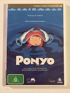 Ponyo - Studio Ghibli Collection (DVD, Region 4)