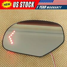 For 07-13 Cadillac Chevrolet Tahoe Gmc Yukon Mirror Glass Heated Signal Driver (Fits: Cadillac)