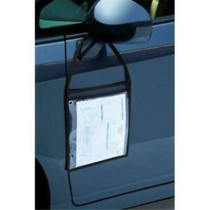 SLIP N GRIP Work Ticket Holder,Repair Order Holder, CLEAR, BOX 25, FB-P9933-03