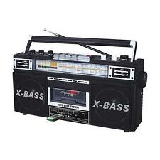 NEW Boombox Cassette Tape Player to MP3 Converter Stereo Speaker System.Portable