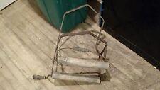 Vintage Antique Clothing Wringer Washer Handle Part -- Wood & Metal