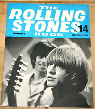 THE ROLLING STONES BOOK MONTHLY NUMBER 14 10TH JULY 1965 VINTAGE MAGAZINE