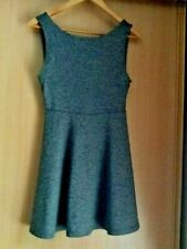 h&m grey, low back,   dress size small (10) bnwt