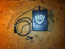 Nady System LT-20 Transmitter with clip exon microphone Excellent Cond-NonProfit