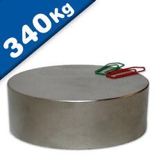 Vetri magnetico/magnetico tondo Ø 80x30mm – n45 neodimio (NdFeB) al Nichel-Detiene Il 340 kg