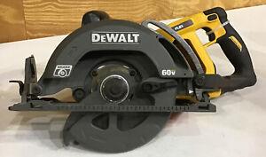 """DeWALT DCS577 60V 7-1/4"""" Worm Drive Circular Saw - TOOL ONLY"""