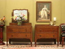 Oak Original Edwardian Antique Cabinets & Cupboards