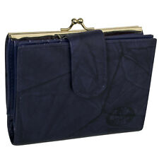 New Buxton Women's Heiress Leather Double Cardex Framed Wallet