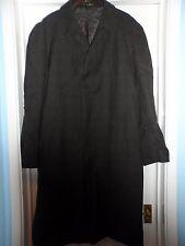 "Vintage Dunn & co men`s 100% wool tweed over coat shower resistant size 42""reg"