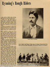 Arizona Ranger History - Rynning's Rough Riders;Index:Alvord,Brooks,Hopkins,Olds