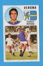 PANINI CALCIATORI 1976/77-Figurina n.296- PETRINI - VERONA -Rec