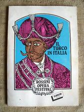 Il turco in Italia Rossini opera festival - Comune di Pesaro 1983