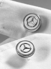Genuine Mercedes Benz Cuff link Cufflink Stainless steel in A Gift Box