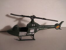 """G.I. JOE Special Mission Helicopter, 10 1/2"""" Long, Good Condition!"""