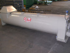 """CPM JACKETED FEED STERILIZER 24"""" DIA X 12' L WITH 3 HP DRIVE"""