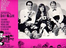 Lobby Card 1967 WOMAN TIMES SEVEN S MacLaine bed 2 men