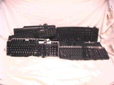 9 USED COMPUTER USB KEYBOARDS DELL & IBM SK-8115 SK-1688 SK-8135 SK-8125 KU-9958