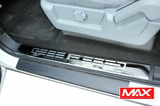 SPFD101 09-14 Ford F-150 Crew Cab Stainless Steel Sill/Scuff Plate Covers