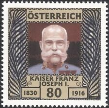 Austria 2016 Kaiser Franz Joseph/Heritage/History/Royalty/People 1v (at1193)