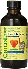 ChildLife, First Defense, 4 fl oz (118.5 ml) Alcohol-Free EXP:11/2022 ~Low Price