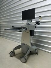 Adjustable Height Sit or Standing Desk - Mobile Computing Work Station Cart