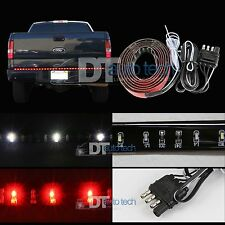 "60"" Flexible 5-Function LED Strip Tailgate Bar Brake Signal Light Truck SUV"