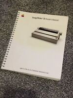 Vintage Apple II Image Writer II Owners Manual - Macintosh, II Plus, IIE, III