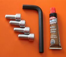 LAVERDA JOTA/1000/1200MONTJUIC BREVETTATO BARS ZINC 12.9 BOLT/KEY/CU.GREASE  KIT