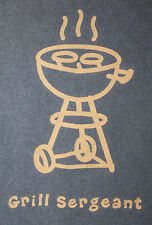 """LIFE IS GOOD """"Grill Sergeant"""" Blue SS T Shirt Mens M"""