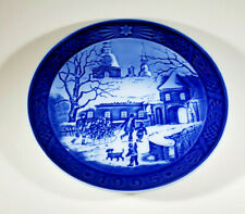 1995 Royal Copenhagen Denmark Collectors Plate The Manor House