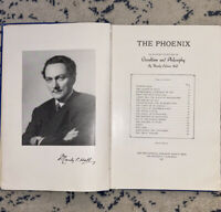 1945 Manly P. Hall THE PHOENIX An Illustrated Review of Occultism & Philosophy